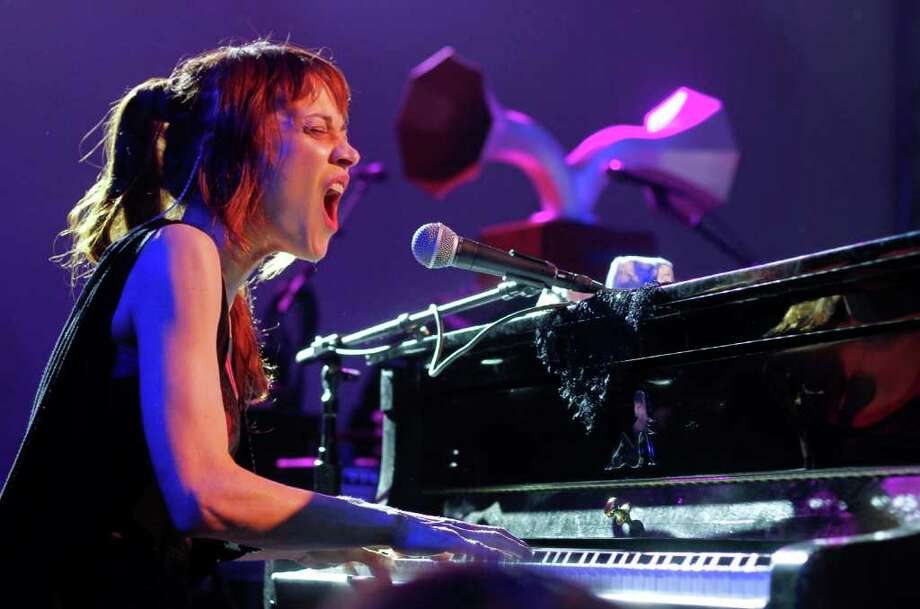 "Fiona Apple, performing at South by Southwest, opens her set with the powerful ""Fast As I Can."" Photo: Jack Plunkett, Associated Press"