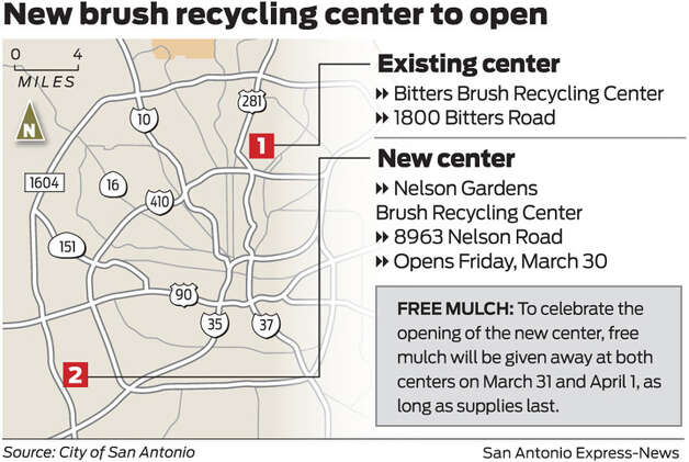Brush recycling center to open