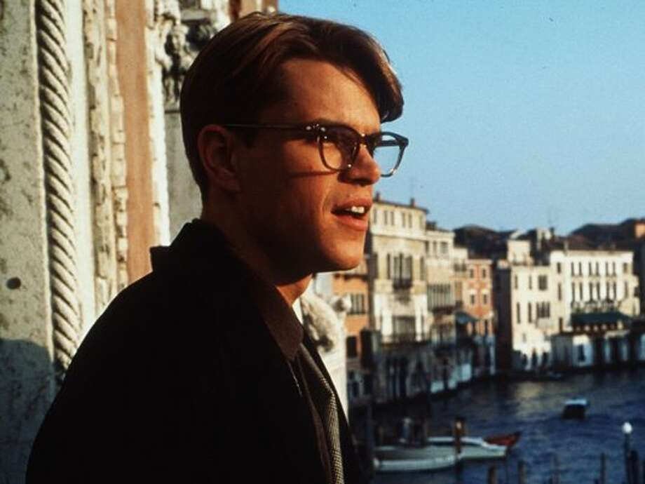 "'The Talented Mr. Ripley'- Matt Damon plays a chameleon-like sociopath in the thriller ""The Talented Mr. Ripley."""