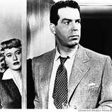 Barbara Stanwyck and Fred MacMurray:  The evil couple.  In DOUBLE INDEMNITY/