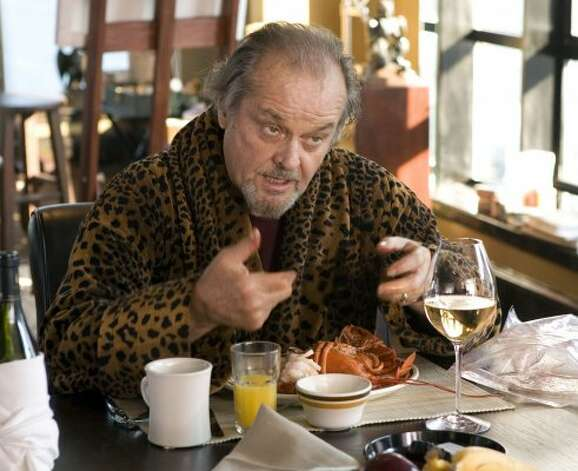 "And of course, ""The Departed"" starred a frightening Jack Nicholson."