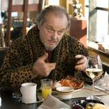 """Jack Nicholson in """"The Departed"""": He scared me. (ANDREW COOPER / AP)"""