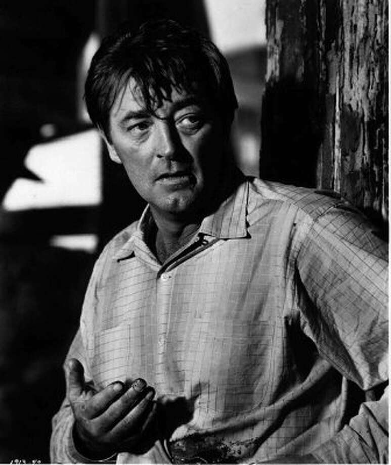 "Legendary Hollywood tough guy Robert Mitchum (seen here in the original ""Cape Fear"") was born in Bridgeport native. Heck, his mother even worked for the Bridgeport Post."