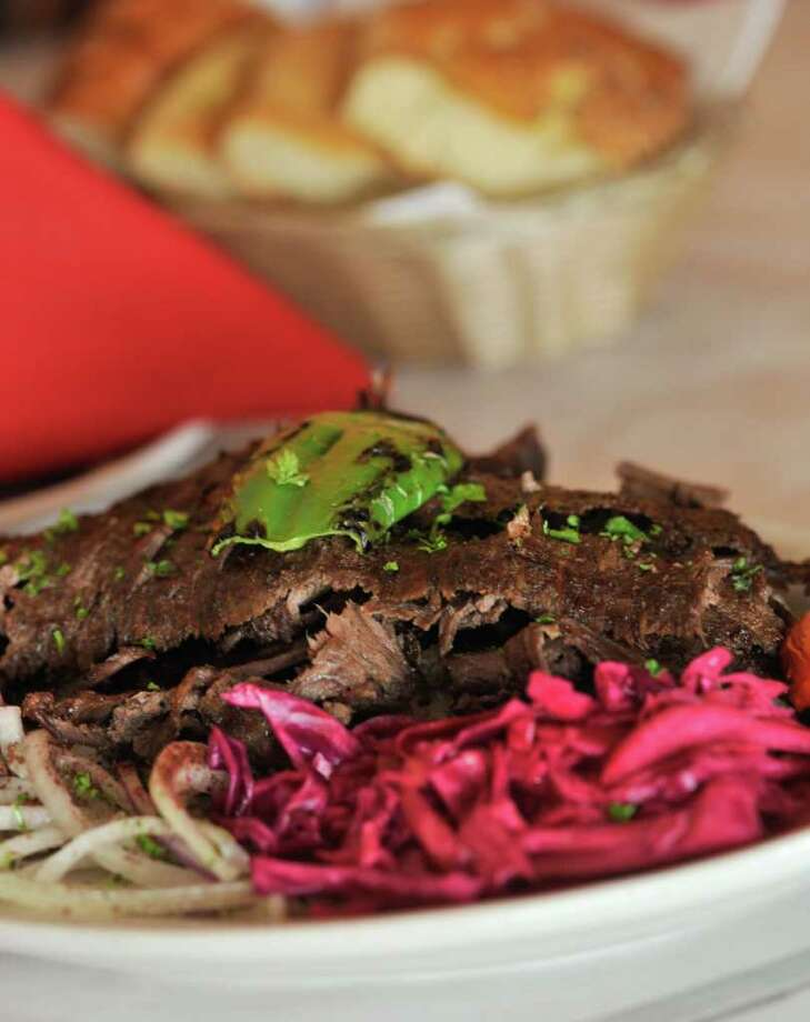 The Döner Kebab from the Turquoise Grill. Photo: Robin Jerstad/For The Express-News