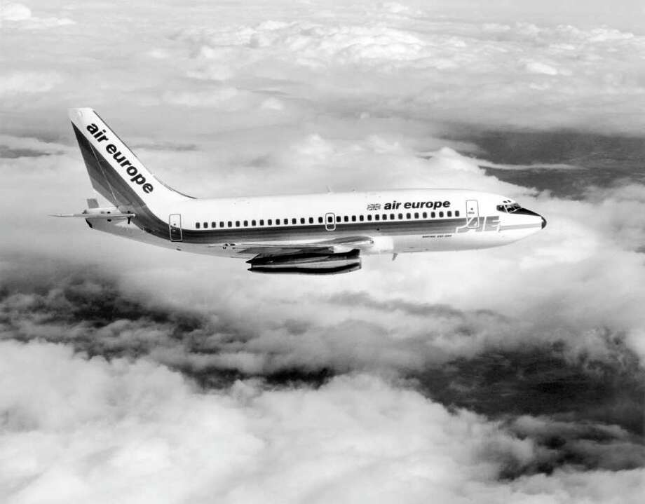 Boeing delivered Air Europe's first Boeing 737-200 in April 1979. Photo: Central Press, Getty Images / Hulton Archive