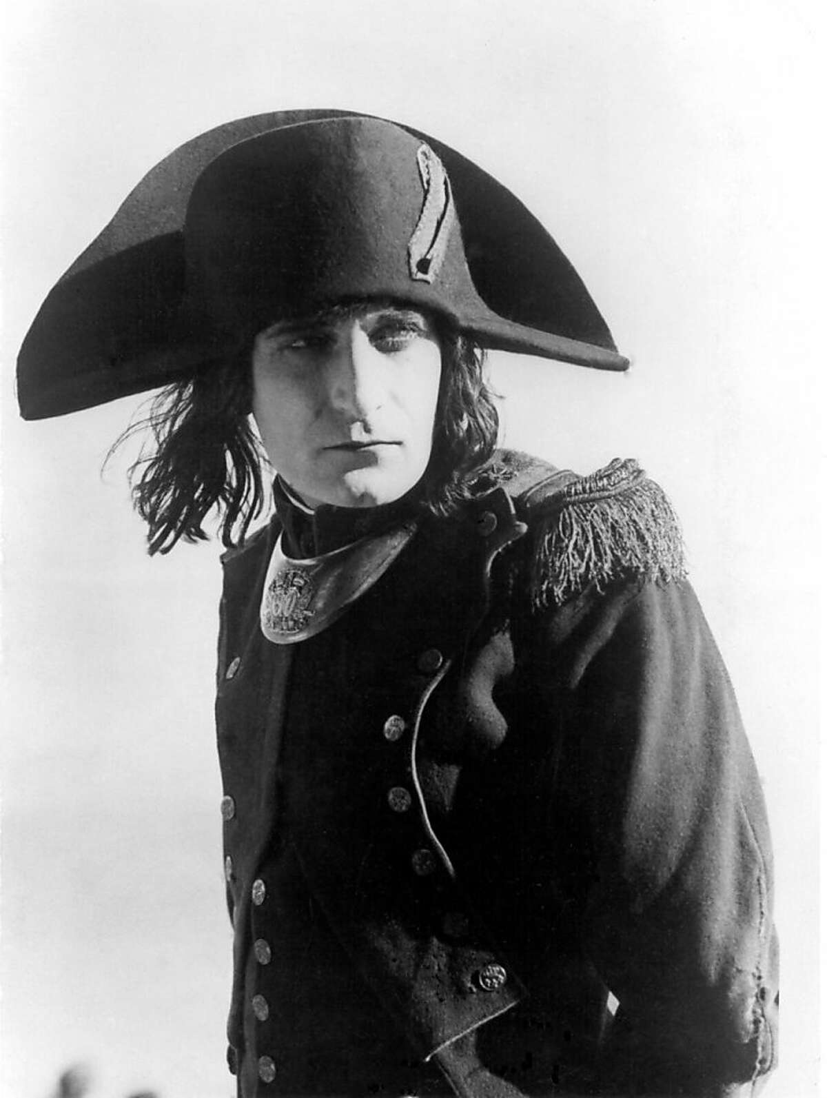 """Albert Dieudonne in the totle role of Abel Gance's """"Napoleon."""" Newly restored print of the 1927 feature will premiere at the San Francisco Silent Film Festival 2012."""