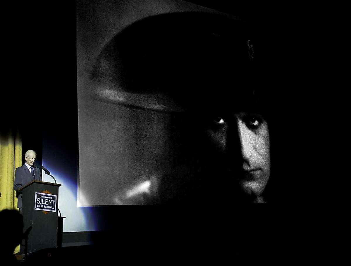 """Historian, archivist and documentarian Kevin Brownlow, who restored Abel Gance's 1927 """"Napoleon,"""" gives a lecture on the film. Newly restored print of the 1927 feature will premiere at the San Francisco Silent Film Festival 2012."""