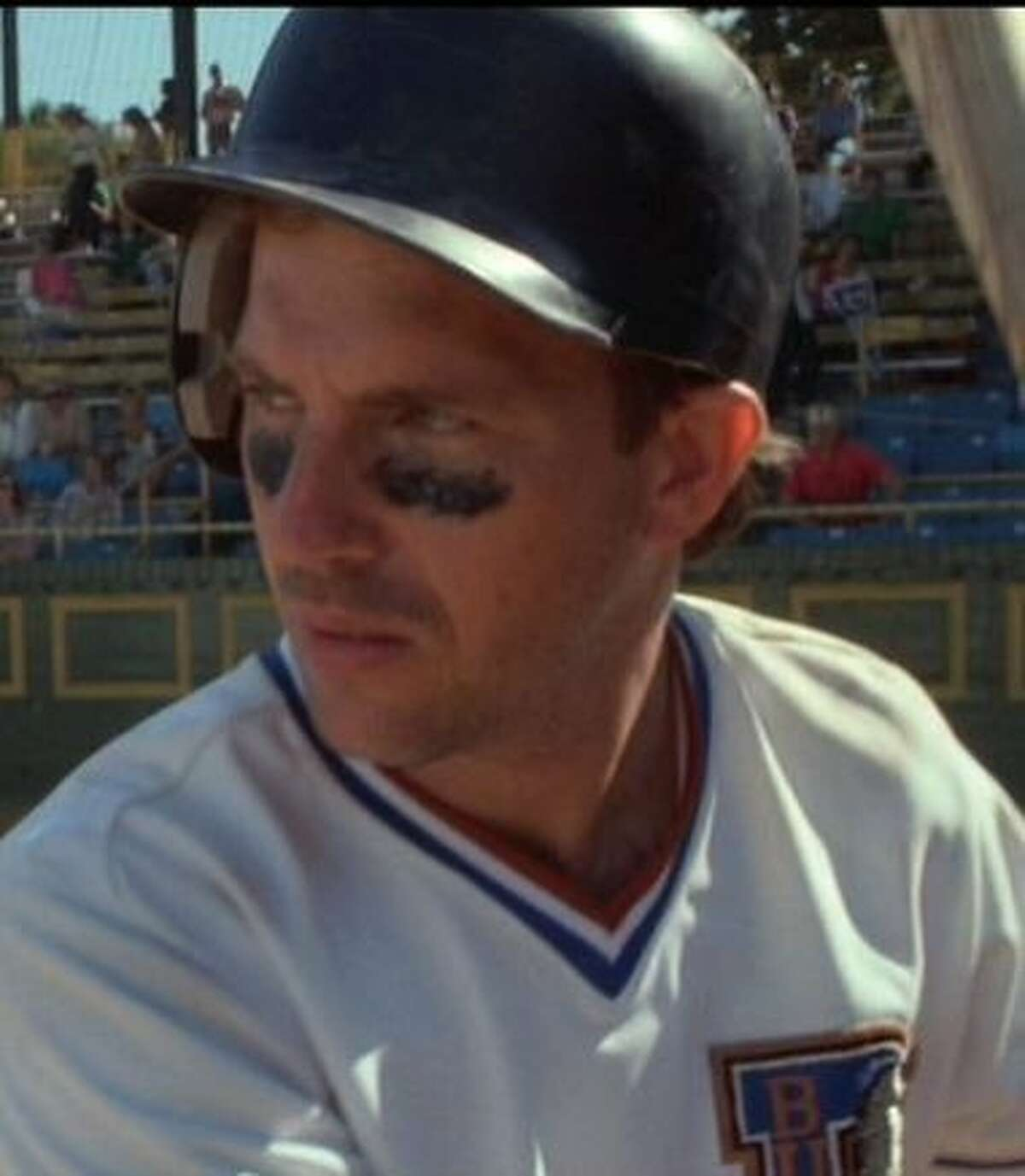 "Kevin Costner in ""Bull Durham."""