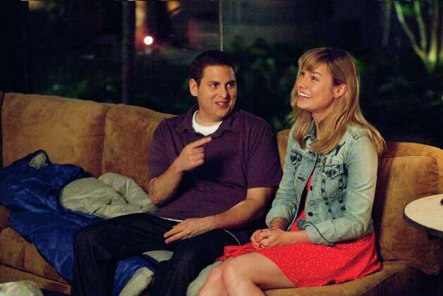 "Scott Garfield/Columbia Pictures Jonah Hill and Brie Larson in ""21 Jump Street,"" also starring Channing Tatum. Photo: Scott Garfield / © 2012 Columbia TriStar Marketing Group, Inc.  All Rights Reserved. **ALL IMAGES ARE PROPERTY OF SONY PICTURES ENTERTAINMENT INC. FOR PROMOTIONAL USE ONLY.  SALE, DUPLICATION OR TRANSFER OF THIS MATERIAL IS STRICTLY PROHIBITED."