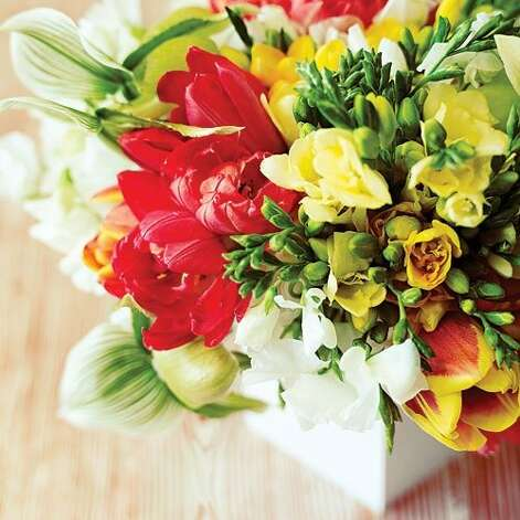 "<b>Make your own designer bouquet:</b> Treat yourself to colorful bouquets and arrangements from a mini flower studio you can create at home. All you need is a sink, a little counter space, and a few essential tools. (Tip: Start with the freshest flowers you can find.) <b>Read more:</b> <a href=""http://www.sunset.com/travel/outdoor-adventure/top-10-waterfalls-00400000011551/?xid=sfg-sunset-030112%3C"">Top 10 waterfalls</a> <br style=""clear:both;"" /><a href=""http://www.sunset.com"" target=""_blank"" class=""sunsetlogo""><img src=""http://imgs.sfgate.com/graphics/partners/sunset/sunset_logo.gif"" alt=""Sunset"" border=""0""/></a> Photo: Thomas J. Story, Sunset.com"