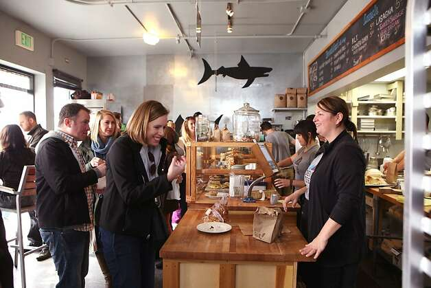 Devil's Teeth Baking Company is a huge hit for the Ocean Beach neighborhood. Photo: Sarah Adler