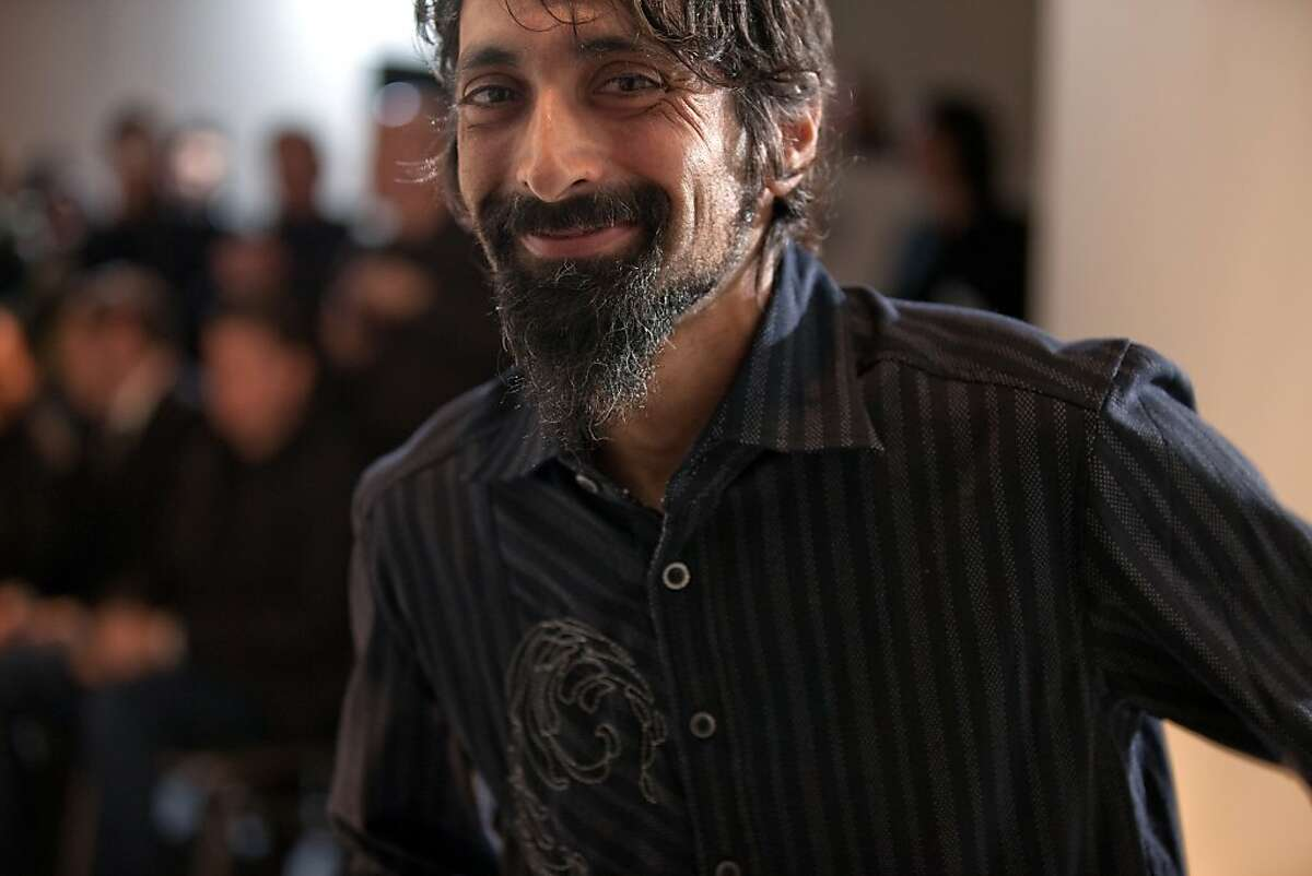 Designer Ilan Reuben (Ilanio) was part of the the Supreme Beings fashion show at SOMArts March 1.