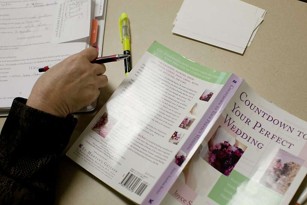 Wedding planner certification classes SFGate