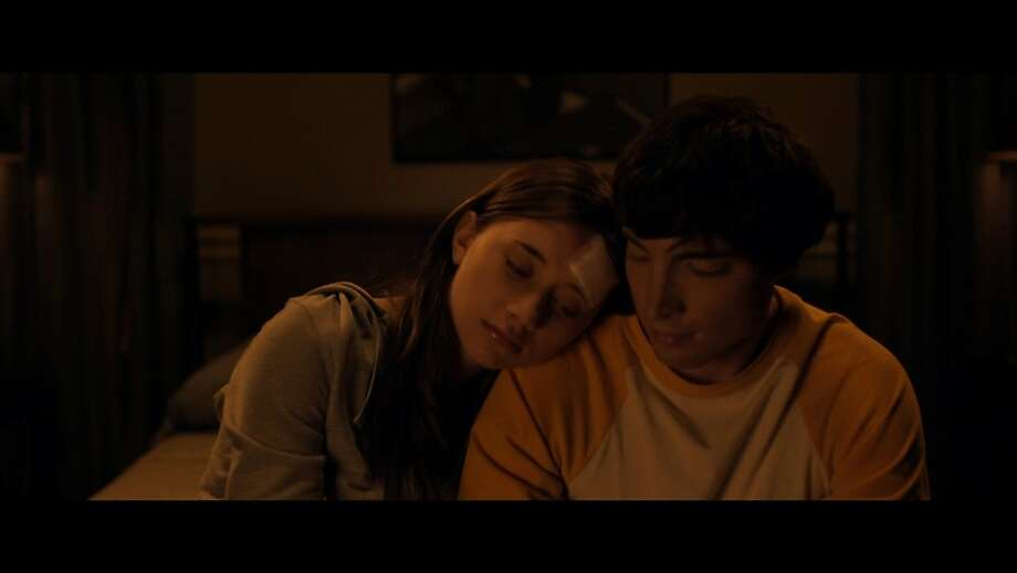 "Emily (Olesya Rulin) and Noah (Josh Danziger) appear in, ""Apart."" Photo: NextMovie"