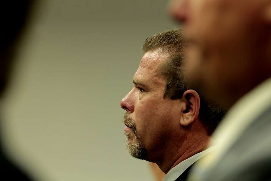 Norman Wielsch, ex-leader of the Central Contra Costa Narcotics Enforcement Team, in court in 2011. He pleaded guilty to robbing prostitutes, stealing drugs. Photo: Lacy Atkins, The Chronicle