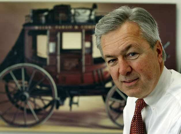 Wells Fargo CEO John Stumpf sits in his office in San Francisco, Calif., on Wednesday, Jan. 7, 2009. Wells Fargo is acquiring Wachovia Corp. making it one of the nation's largest banking institution. Photo: Paul Chinn, The Chronicle