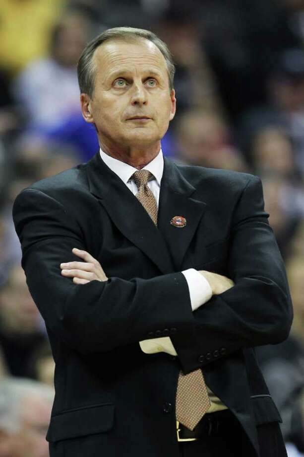 "Rick Barnes said his team's position is ""unacceptable."" Photo: Jamie Squire / 2012 Getty Images"
