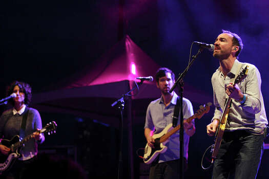 The Shins' James Mercer (right) performs with the band during South by Southwest on March 15, 2012, in Austin. Photo: EDWARD A. ORNELAS, Edward A. Ornelas/Express-News / © SAN ANTONIO EXPRESS-NEWS (NFS)