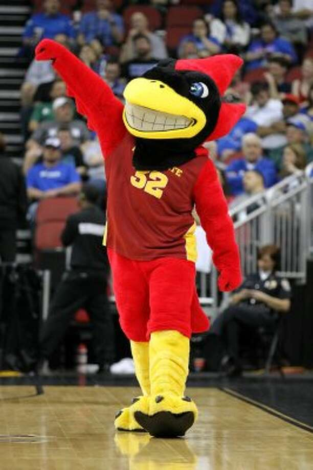 Iowa State's Cy the Cyclone is fine, but does anyone else think birds with teeth are weird?