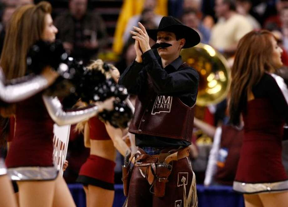 Uh, excuse me, Pistol Pete? Your mustache appears to be trying to distance itself from your face.