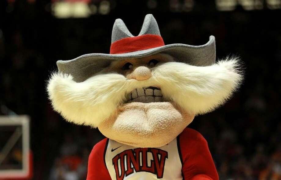 Now that's a mustache! (UNLV's The Shark)