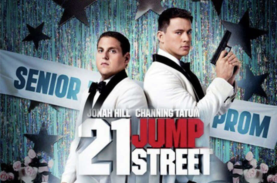 """""""21 Jump Street,"""" a comedic reinterpretation of the 1980s television show, stars Jonah Hill and Channing Tatum and is playing in area movie theaters now. Photo: Contributed Photo / Westport News contributed"""