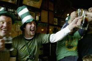So, was St. Patrick the patron saint of the beer industry? Research by BigInsigh reports Americans will likely spend $4.5 billion this St. Patrick's Day. And the beer industry makes about 1 percent of its revenue on March 17 - not a lot, until you consider there are 364 other days in the year.  (Getty Images )