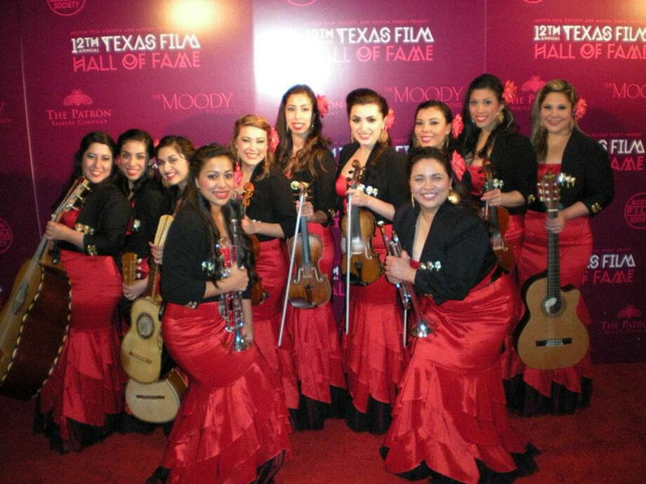 Mariachi Las Coronelas is an all-female group competing for a chance to perform at the 23rd Annual Mariachi USA festival. Courtesy photo