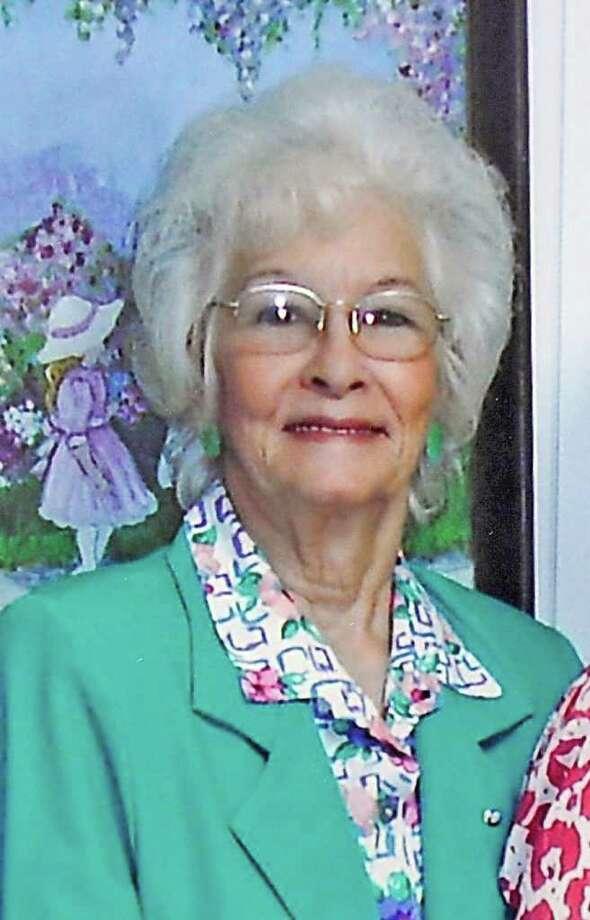 Minnie Ray Sebolt from a photo taken August, 2005  Photo provided by Hartburg Baptist Church