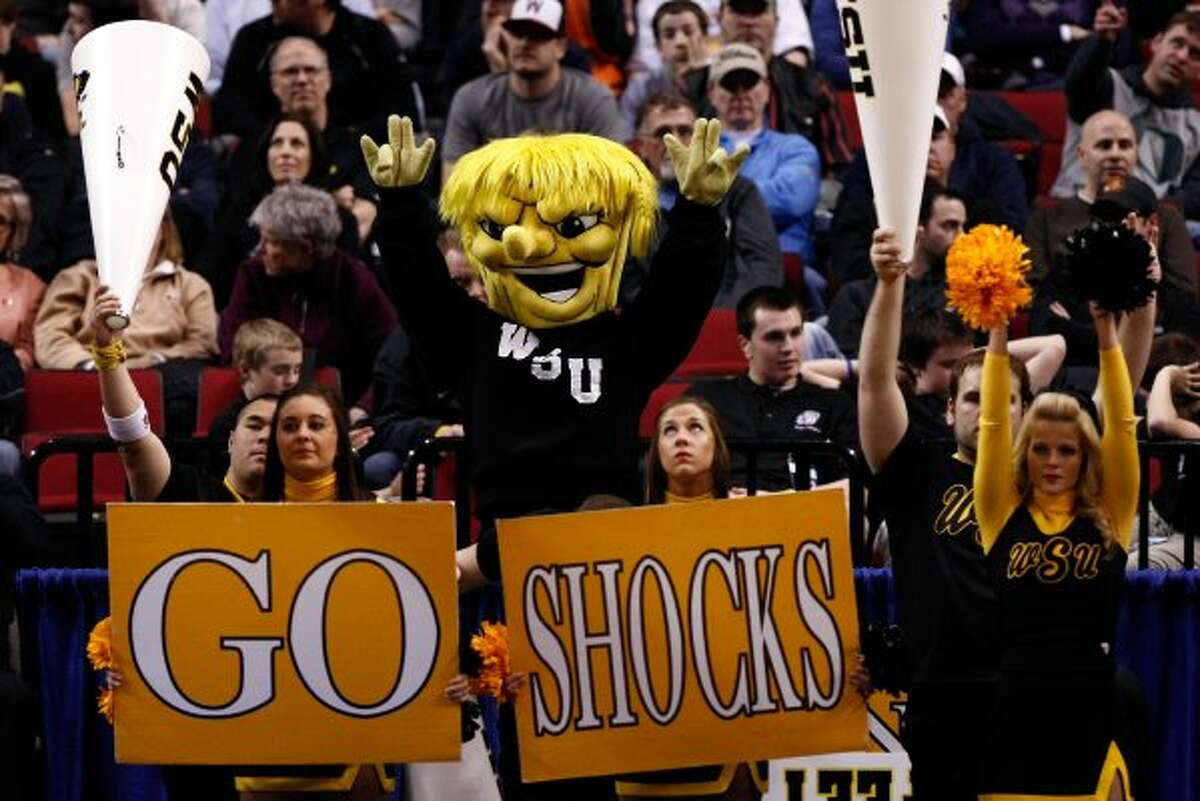 The infamous Wichita State Shocker ... you either hate it or you love it. (Jonathan Ferrey / Getty Images)