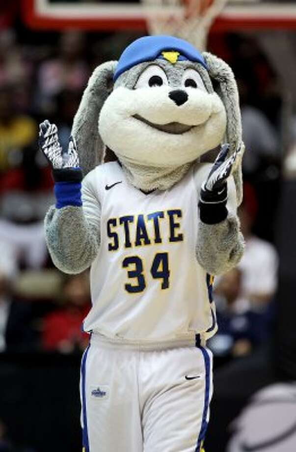 South Dakota State would like to remind you that there is no copyright infringement of any animated bunnies going on here. (Christian Petersen / Getty Images)