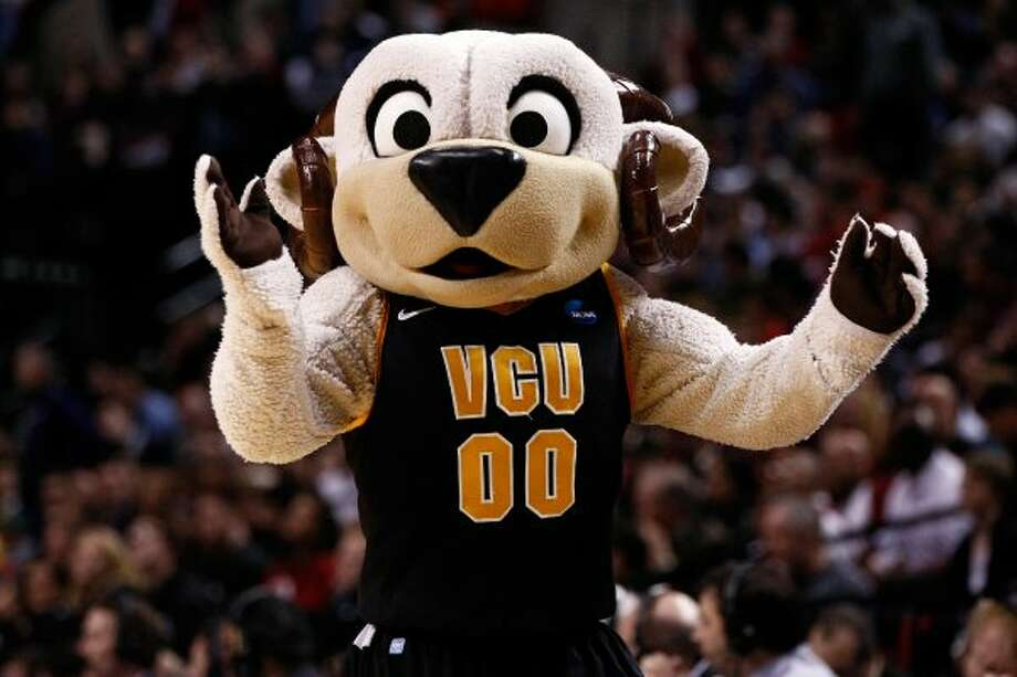 VCU's warmer, cuddlier answer to Colorado State's ram. (Jonathan Ferrey / Getty Images)