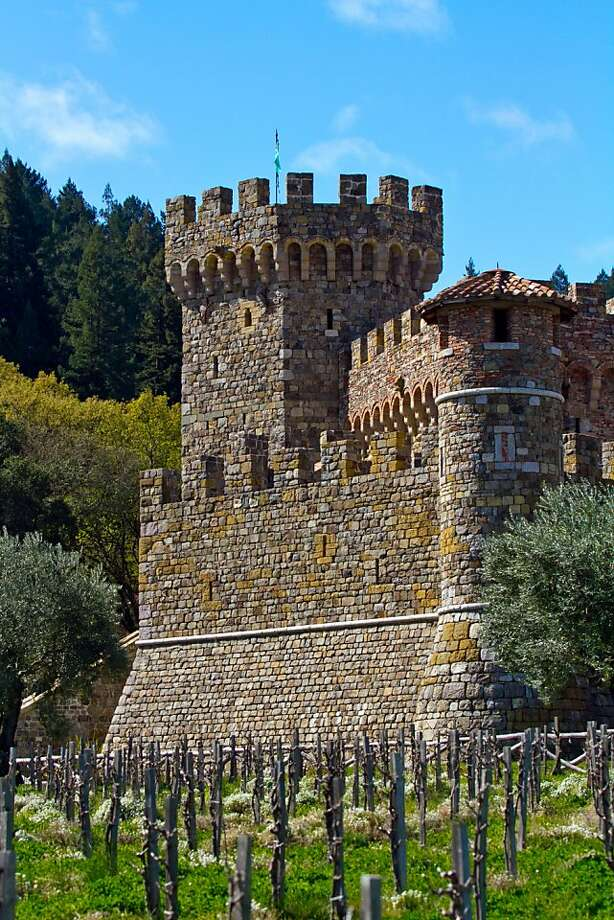 Castello di Amorosa, Calistoga Photo: John Storey