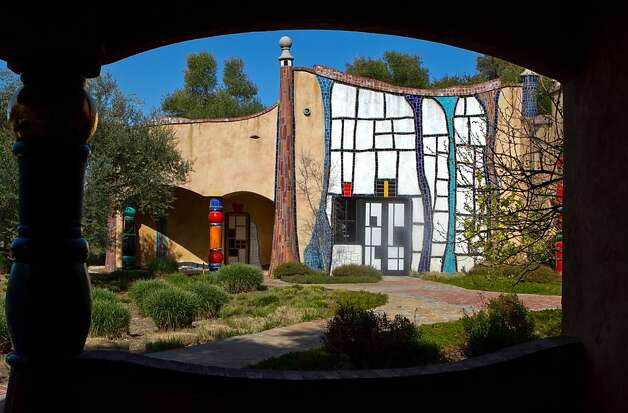 The Quixote Winery in Napa, Calif., is seen on Saturday, March 10th, 2012. Photo: John Storey, Special To The Chronicle