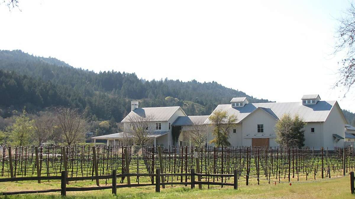 Larkmead Vineyards, designed by Howard Backen, is a sedate counterpart to many Napa wineries both in setting and architectural design.