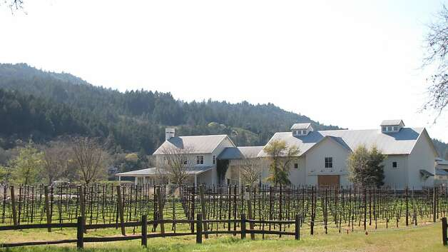 Larkmead Vineyards, designed by Howard Backen, is a sedate counterpart to many Napa wineries both in setting and architectural design. Photo: John King, The Chronicle
