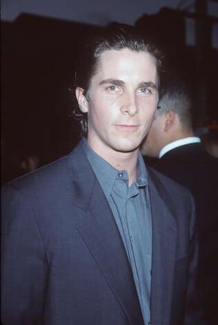 Christian Bale, pictured in something else, in AMERICAN PSYCHO