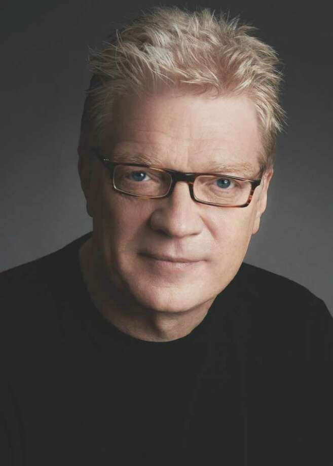 """Sir Ken Robinson, educator, author and consultant,  says we have to stop disrespecting teachers. He asks, """"Could you run a good restaurant while humiliating the chef?"""" Photo: Claudia Feldman"""