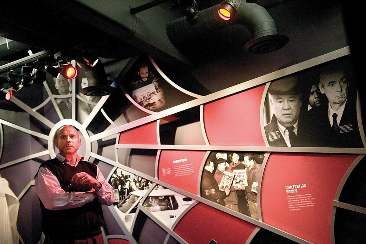 The mob's tangled web and those affected by it is on display at The Mob Museum in downtown Las Vegas, Nevada. (Cindy Yamanaka/Orange County Register/MCT)