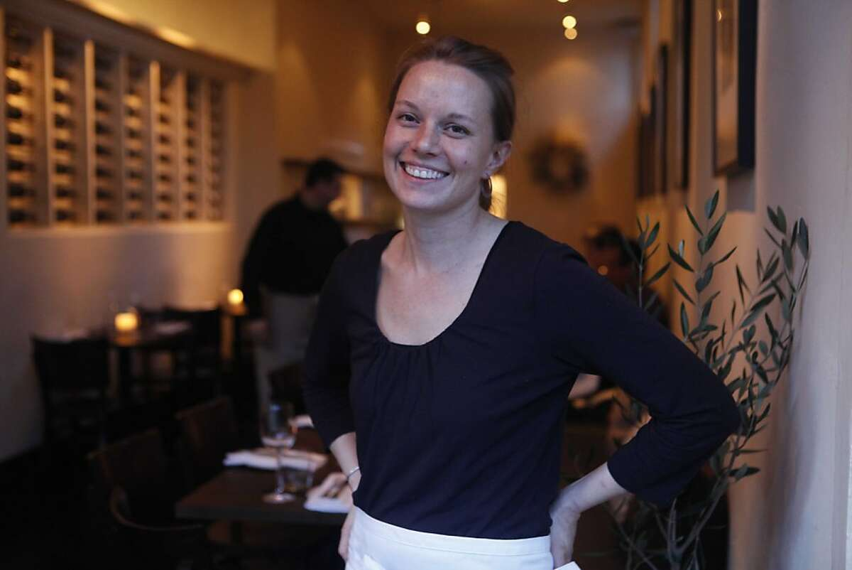 Chef Melissa Perello stands for a portrait at Frances on Friday January 22, 2009 in San Franicisco, Calif.