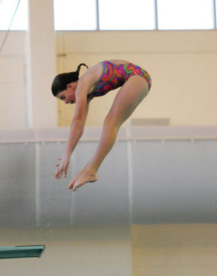 Rachel Dye of the Greenwich Marlins qualified for the USA Diving Spring East National Competition, which will be held in Rockville, MD April 13-15. Photo: Contributed Photo
