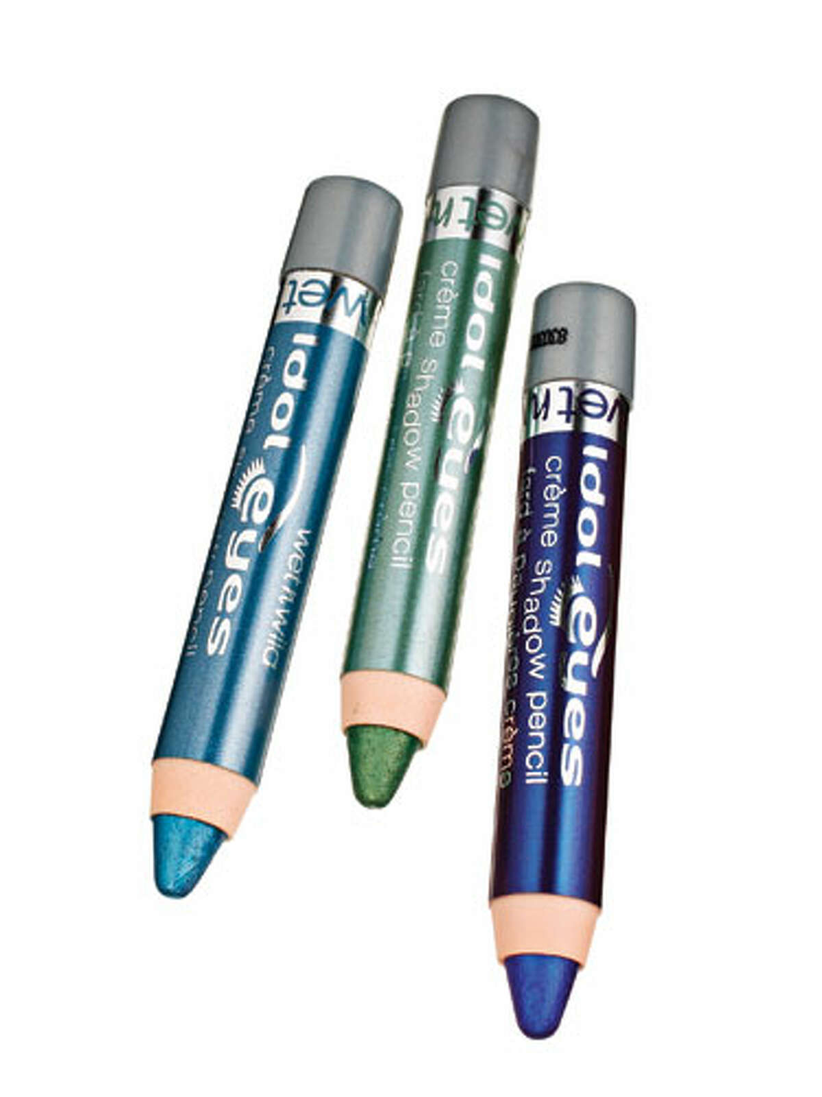 First, reach for liner. Skip black - like an LBD, it narrows your shape - and use a colored one to define your top lash line, says celebrity makeup artist Carmindy. (Blues and greens not your thing? Reach for slate, which looks awesome on everyone.) Now, swipe a shimmery white shadow onto your inner corners in a sideways V shape to catch light, which widens eyes. Finally, make your eyelash curler your BFF. Crimping the top lash line angles hairs so tips are closer to your brows, expanding the entire eye area. Immediately lock in the curve with two coats of lengthening mascara. Wet n Wild Idol Eyes, $2 each Reprinted with Permission of Hearst Communications, Inc. Originally Published: Fix-Anything Makeup Tricks Jeffrey Westbrook/Studio D Jeffrey Westbrook/Studio D