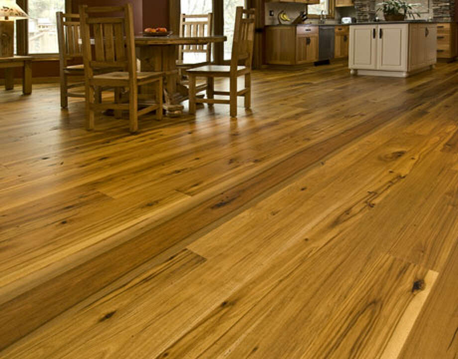Consider reclaimed wood flooring.