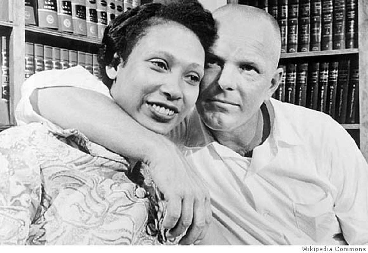 Mildred and Richard Loving -- they fought the law, and love won. Photo by Wikipedia Commons