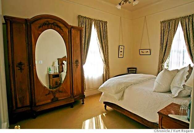 This is one of the rooms at the Inn.  The Olema Inn, one of the Bay Area�s most historic buildings and home of one of the region�s best restaurants, is for sale.  FRIDAY, DECEMBER 22, 2006 KURT ROGERS/THE CHRONICLE OLEMA THE CHRONICLE  SFC OLWMA21_0096_kr.jpg MANDATORY CREDIT FOR PHOTOG AND SF CHRONICLE / -MAGS OUT Photo: KURT ROGERS/THE CHRONICLE