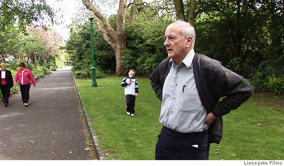 Oliver O'Grady in a public park in Ireland. Photo courtesy of Lionsgate.  Ran on: 10-25-2006  Amy Berg, above, director of &quo;Deliver Us From Evil,&quo; found ex-priest and convicted pedophile Oliver O'Grady surprisingly willing to talk. Top, O'Grady in Ireland, where he was deported after serving time in the United States. Photo: Lionsgate Films