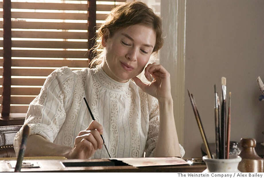 """Renee Zellweger stars as Beatrix Potter in Chris Noonan's """"Miss Potter,"""" a biopic about the children's author who created Peter Rabbit, opening Friday. Credit: Alex Bailey/The Weinstein Company Photo: Alex Bailey/The Weinstein Compan"""