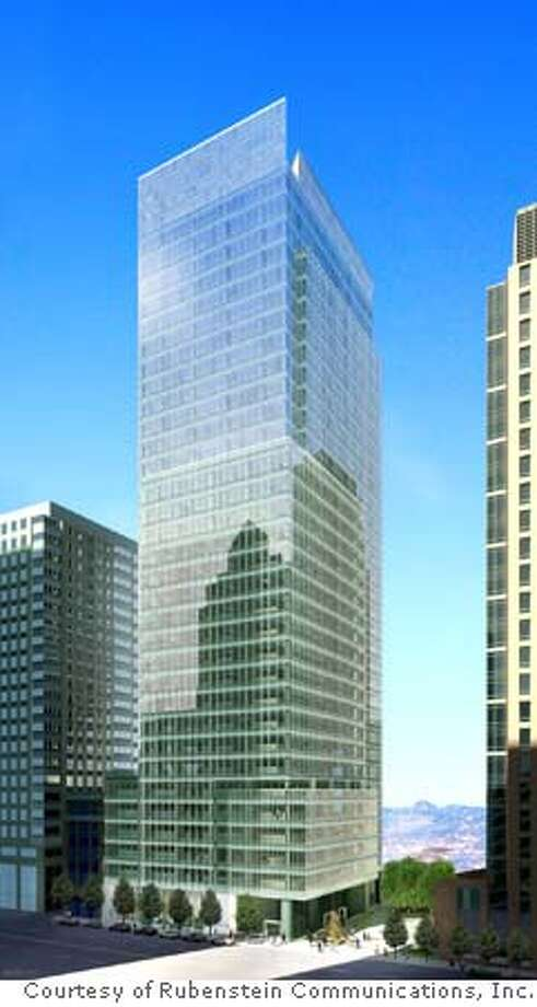 555 Mission (Tishman Speyer) rendering. Credit: Courtesy of Rubenstein Communications, Inc. Photo: Rubenstein Communica