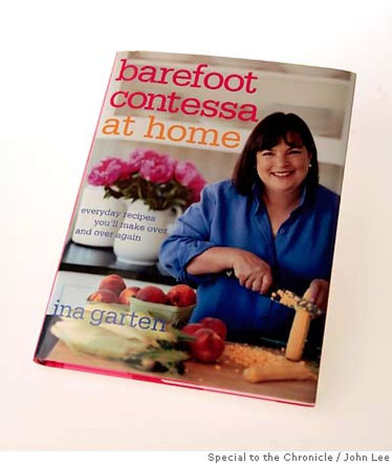 "BOOK27_BAREFOOT_JOHNLEE.jpg  Cookbook ""Barefoot Contessa at Home."" By JOHN LEE/SPECIAL TO THE CHRONICLE Photo: JOHN LEE"