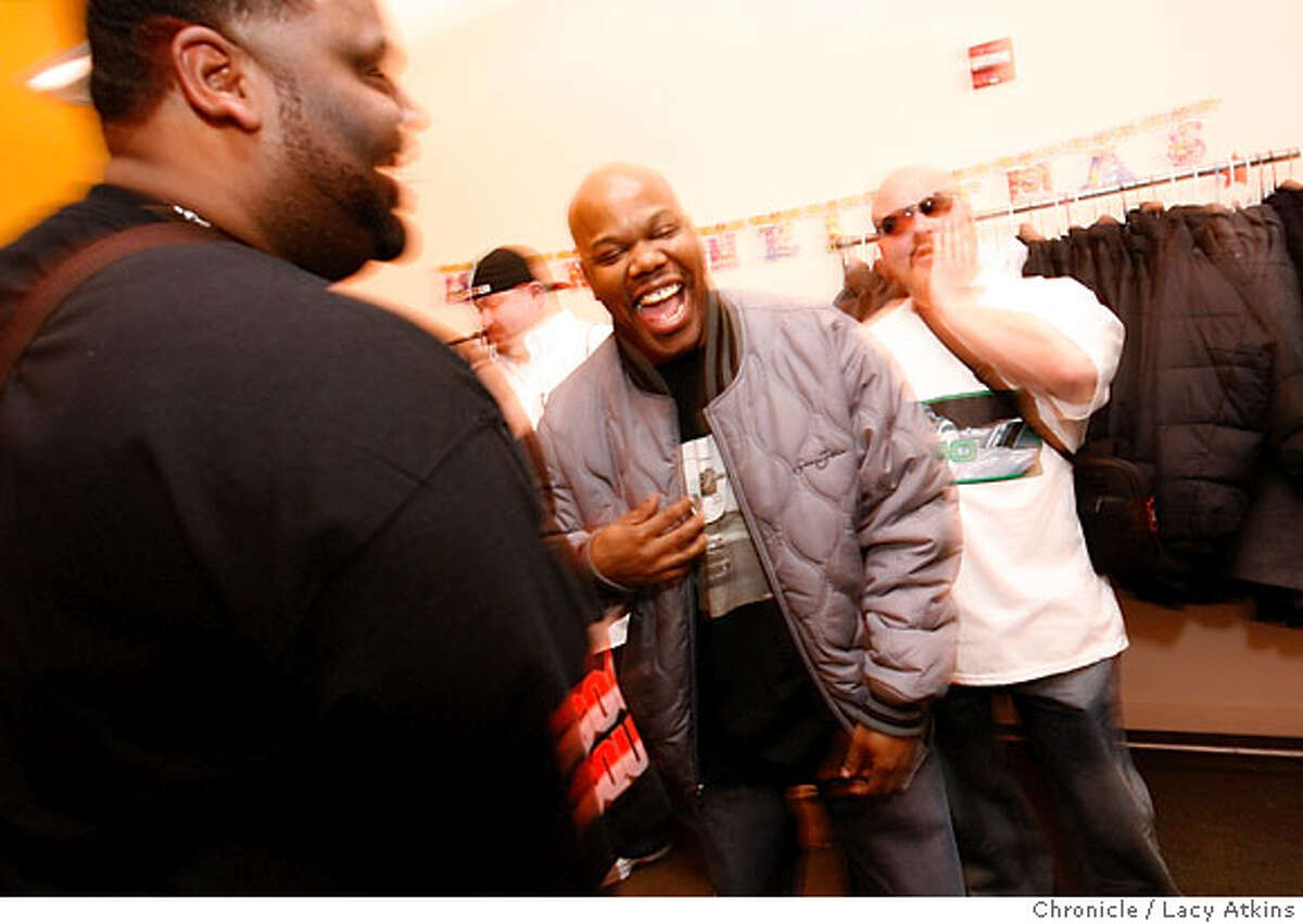 Too Short is back in his old stomping grounds in East Oakland, trying to help youths find a way out of the cycle of violence. Chronicle photo by Lacy Atkins